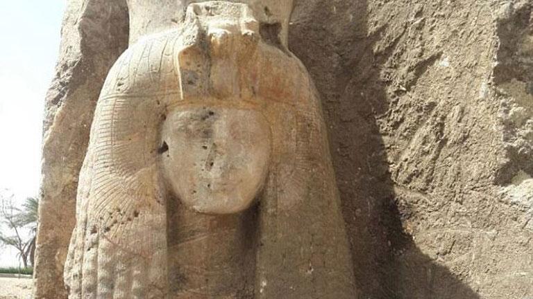 Статуя сестры Тутанхамона