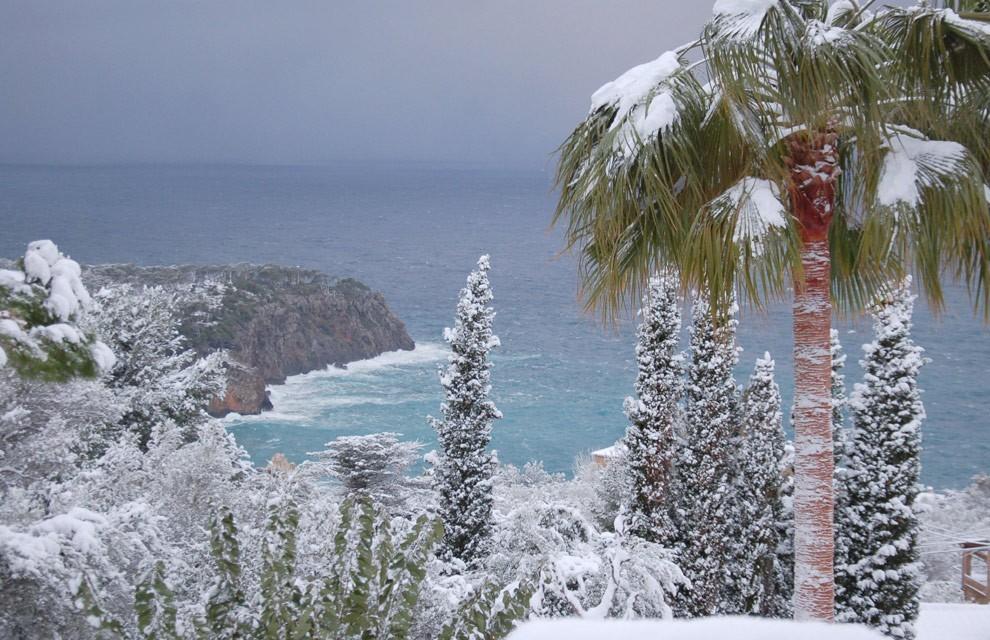Снег в Торревьехе