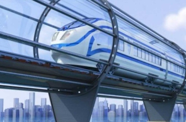 проект вакуумного поезда Hyperloop