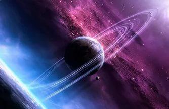 ураган на Сатурне