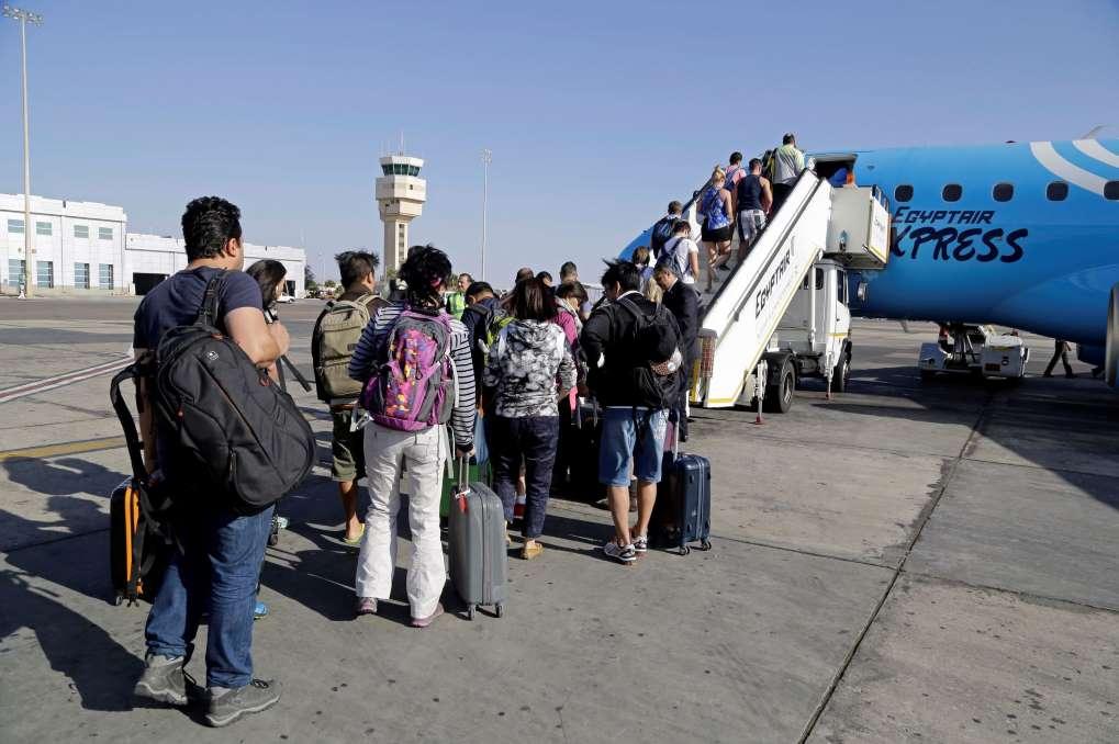 ограничить полеты в Египет