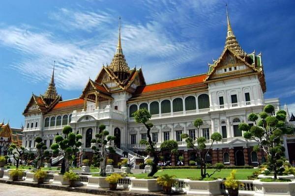 Королевский дворец в Таиланде