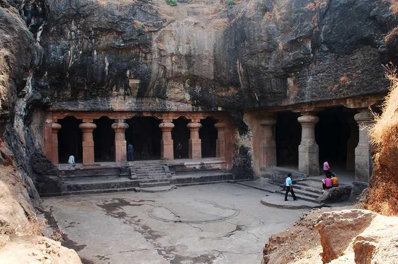 Пещерные храмы острова Элефант