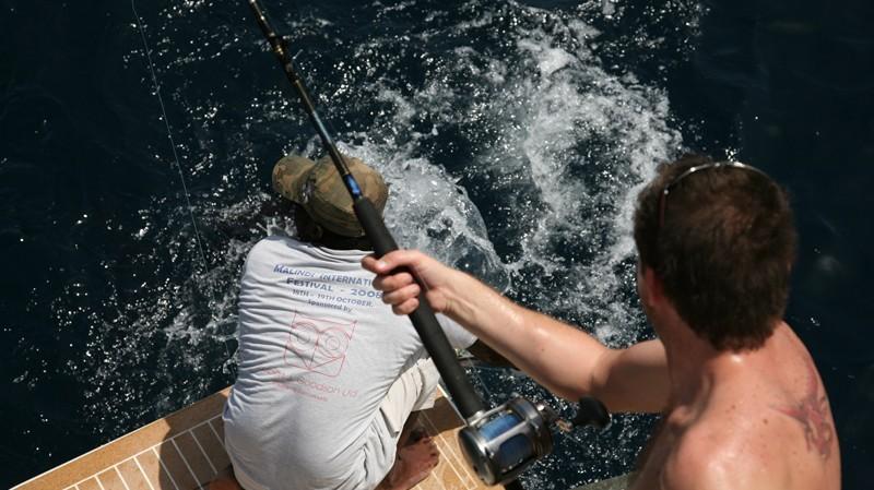 Глубоководная рыбалка в Персидском заливе