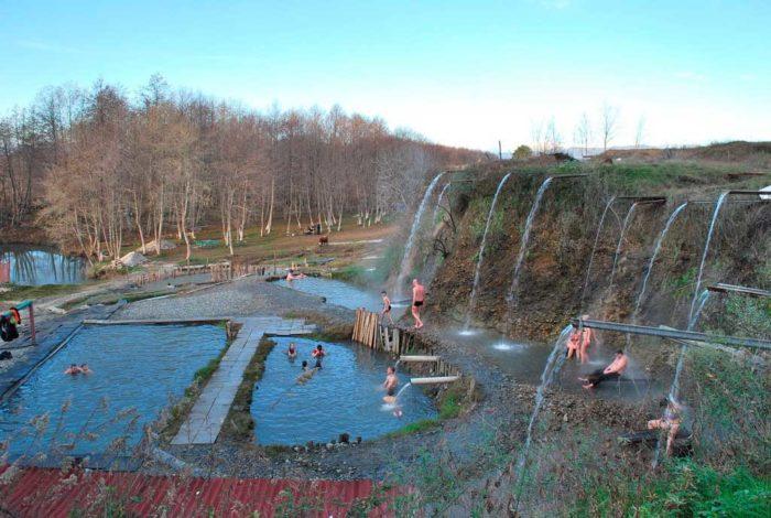 Сероводородный источник в Кындги