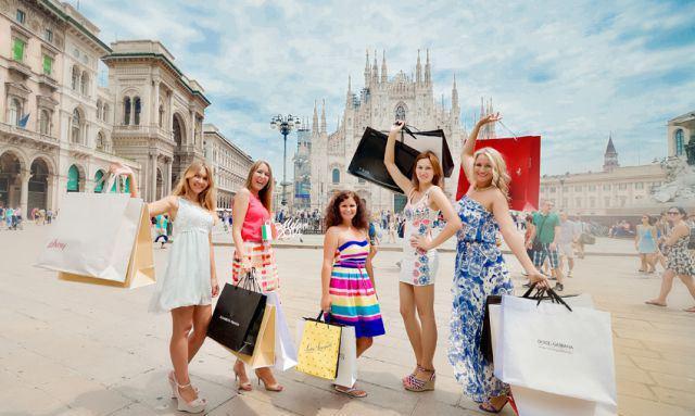 в Милан за покупками