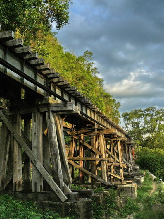 Дорога смерти и мост смерти
