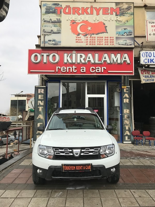 Аренда машин в Турции