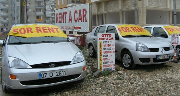 Прокат машин в Турции
