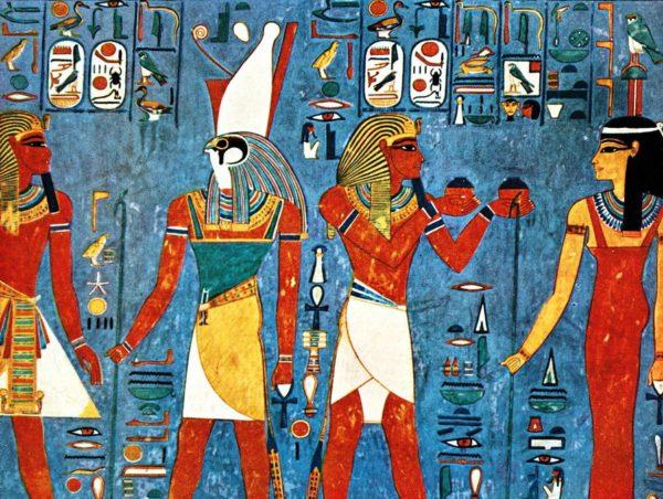 Изображение людей в Древнем Египте