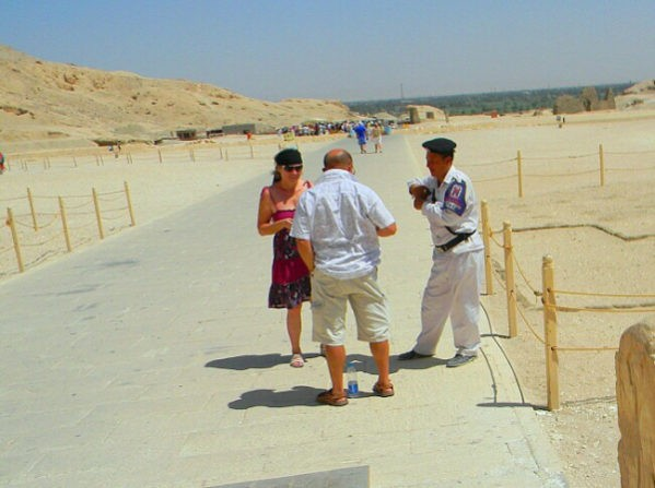 общение с местным населением Египта