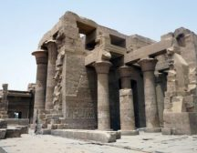 храмы древний египет