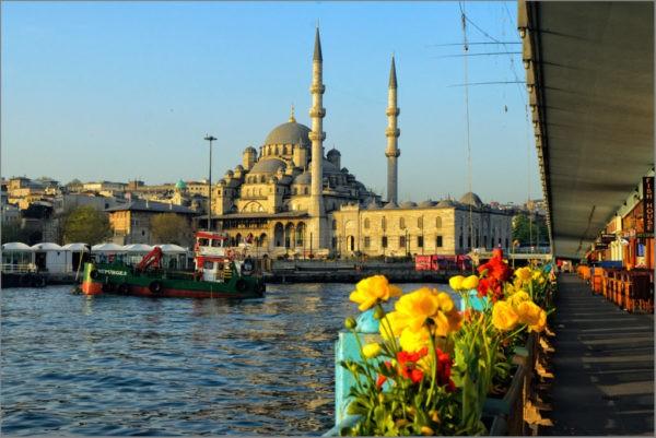 в Турцию в апреле