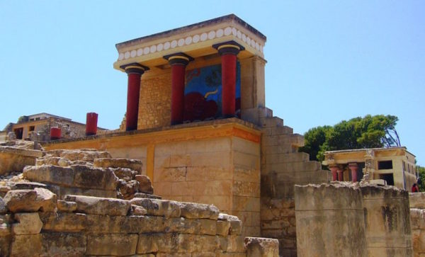 Дворец Кноссос