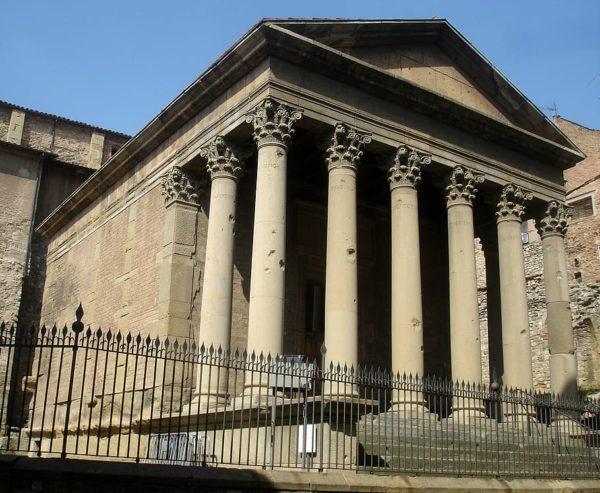 Испания. Римский храм